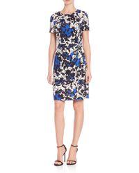 Diane von Furstenberg | Zoe Printed Silk Wrap Dress | Lyst