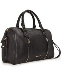 Mango Zip Tote Bag black - Lyst