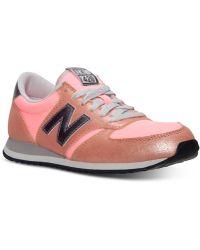 New Balance Womens Heidi Klum 420 Casual Sneakers From Finish Line - Lyst