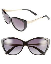 Alexander McQueen 61Mm Cat Eye Sunglasses - Lyst
