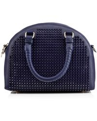 Christian Louboutin Panettone Small Spikes blue - Lyst