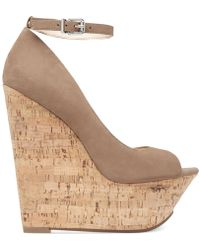 Jessica Simpson Maurina Platform Wedge Sandals - Lyst