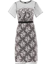 Erdem Heidi Organza-Lace Dress - Lyst