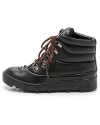 Joe's Jeans Averey Hiker Boots  Black - Lyst