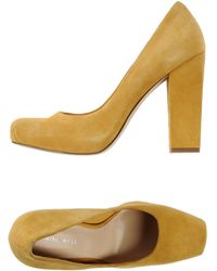 Nine West Court yellow - Lyst