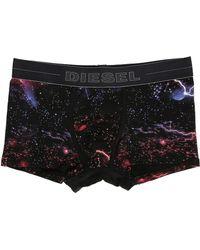 DIESEL | Umbx Damien Red Print Boxer Shorts | Lyst