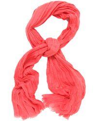 Yigal Azrouël Flamingo Candy Scarf red - Lyst