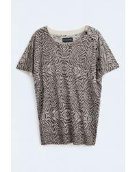 Zadig & Voltaire Hexa Print Deluxe Sc Sweater - Lyst