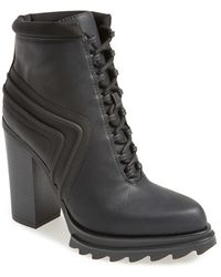 Gx By Gwen Stefani - Cope Lace-Up Leather Platform Boots - Lyst