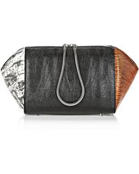 Alexander Wang Large Embossed Chastity Makeup Pouch In Tricolor - Lyst