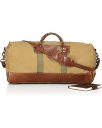 Ralph Lauren - Polo Leather-Trimmed Canvas Duffel - Lyst