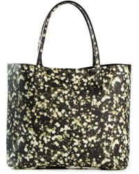 Givenchy 'Antigona' Large Baby'S Breath Floral Print Shopping Tote black - Lyst