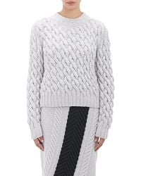 Orley - Cable-knit Sweater - Lyst