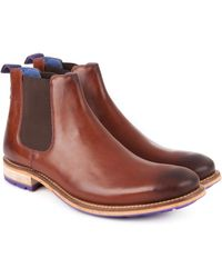 Ted Baker - Leather Chelsea Boot - Lyst