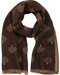 Mulberry Brown Tree Wrap - Lyst
