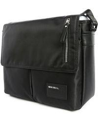 DIESEL | Black Chorus Shoulder Bag | Lyst