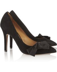 Isabel Marant Poppy Suede Pumps - Lyst