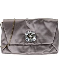Lanvin Under-Arm Bags gray - Lyst