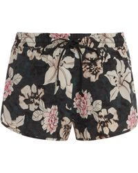 Elizabeth And James Hammond Silk Printed Short - Lyst