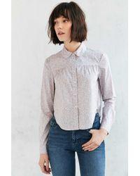 ALICE & UO - Ferielle Button-down Shirt - Lyst