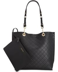 Calvin Klein   Reversible Tote With Pouch   Lyst