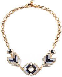 Lulu Frost Ravenna Statement Necklace gold - Lyst