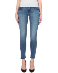 True Religion Halle Skinny Mid-Rise Jeans - Lyst