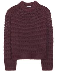 3.1 Phillip Lim Wool And Cotton-Blend Sweater - Lyst