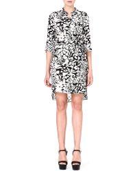 Diane Von Furstenberg Prita Leopardprint Silk Dress Leopard - Lyst