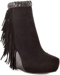 Boutique 9 Black Cerys Suede - Lyst