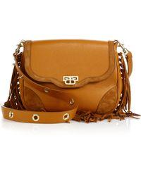 Dee Ocleppo - Primrose Fringed Leather & Suede Crossbody Bag - Lyst