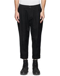 The Viridi-anne Pleat Front Crop Pants - Lyst