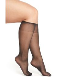 Charnos - Sheer Knee Highs - Lyst