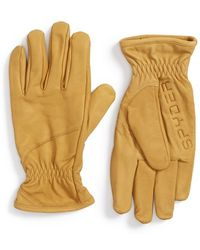 Spyder - 'jaxson' Leather Ski Gloves - Lyst
