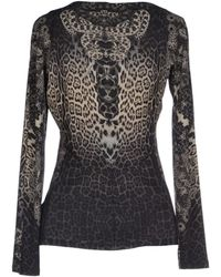 Roberto Cavalli Long Sleeved Top - Lyst