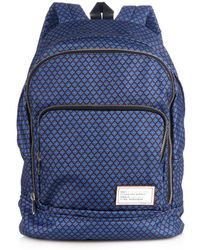 Marc By Marc Jacobs Printed Backpack blue - Lyst