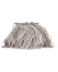 Ralph Lauren Ostrichfeather Evening Bag - Lyst