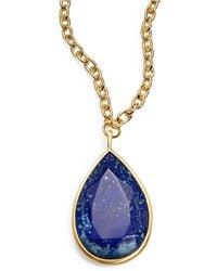 Karen Kane - Tranquil Water Reversible Pendant Necklace - Lyst