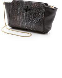 Pour La Victoire - Elie Mini Cross Body Bag - Snake Multi - Lyst