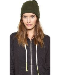 1717 Olive | Purl Knit Slouch Beanie | Lyst
