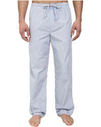 Calvin Klein Pajama Pant U1726 blue - Lyst