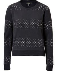 Juicy Couture Striped Stud Pullover - Lyst