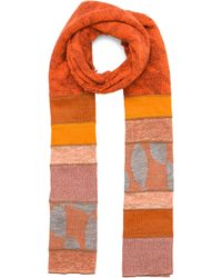 Junya Watanabe - Checkered Link Scarf - Lyst