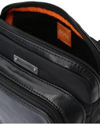 BOSS Orange | Mixed Material Mini Bag: 'campus_s Zip Env' | Lyst