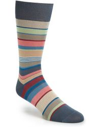 Paul Smith Stripe Socks multicolor - Lyst