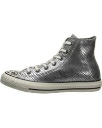 Converse Chuck Taylor All Star Snake Leather Hi - Lyst