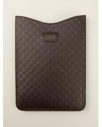 Gucci Microssima Ipad Case - Lyst