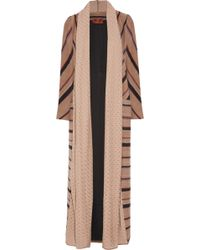 Missoni Alpaca, Wool And Cotton-Blend Coat - Lyst