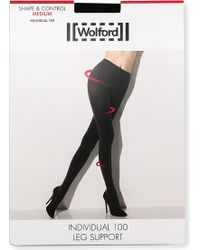 Wolford Opaque Individual 100 Tights - Lyst