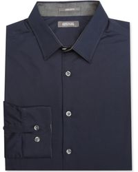 Kenneth Cole Reaction Blue Contrast Shirt - Lyst